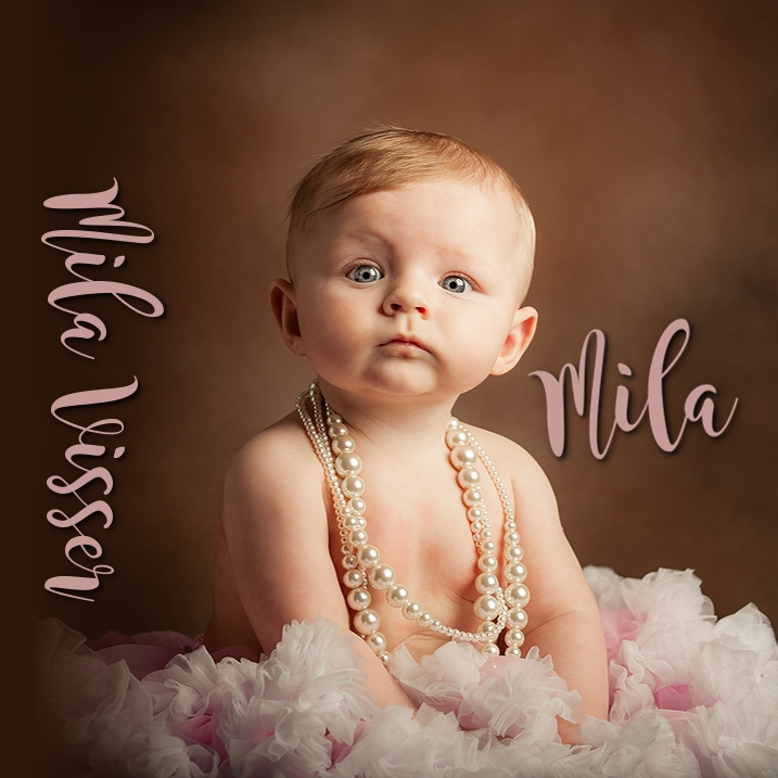 Mila Visser | My First Year | Album Design