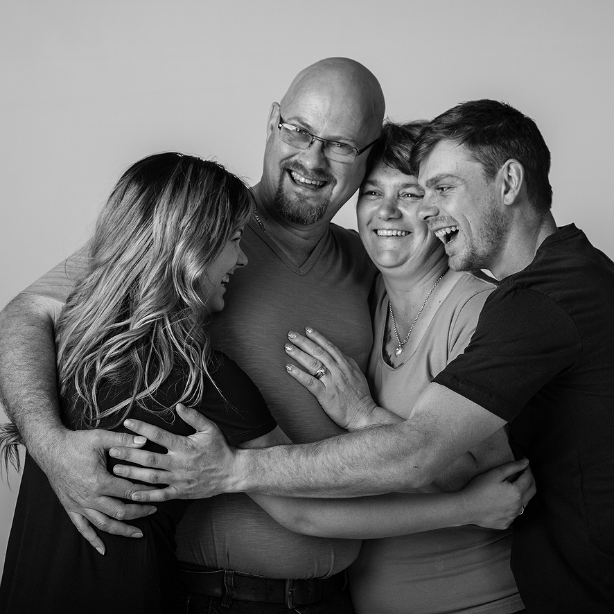The Naudé Family | Studio
