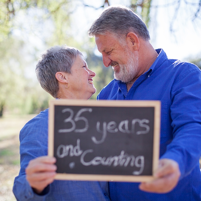 Chris & Sue | 35 Year Anniversary